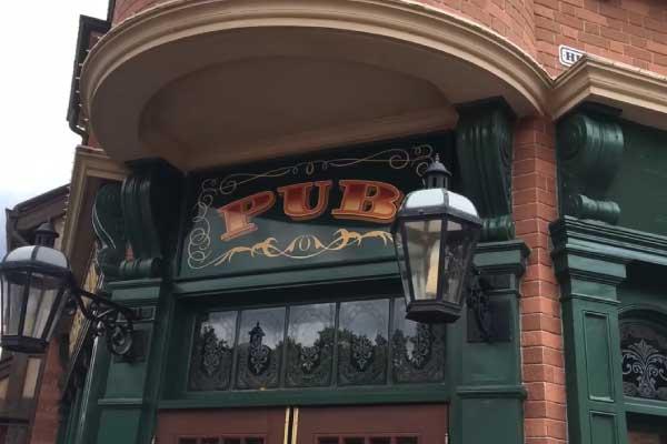 pub-bartenders Disney World Epcot